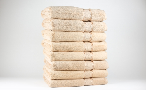 Towel To Gau, Zwirnfrottier Badetuch 70x140 / beige(Frosted Almond) / 8
