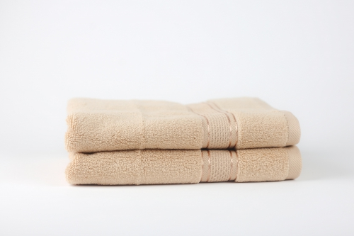 Towel To Gau, Zwirnfrottier Handtuch 50x80 / beige(Frosted Almond) / 2